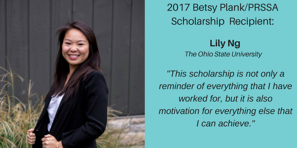 Scholarship Recipient – Lily Ng(1)