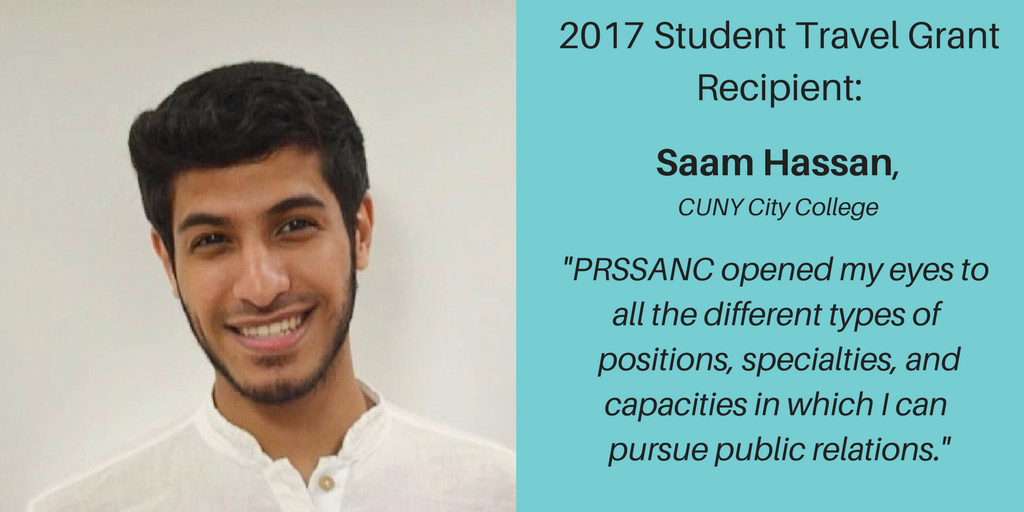 Travel Grant Recipient – Saam Hassan